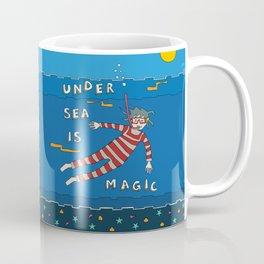 Snorkeling Boy Coffee Mug