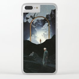 Rites Of Passage Clear iPhone Case