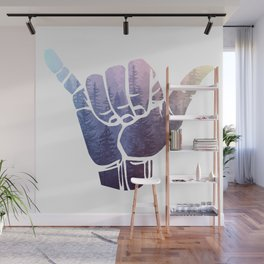 Rainbow Misty Forest Hang Loose Wall Mural