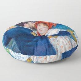 Pierre-Auguste Renoir - Country Dance Floor Pillow