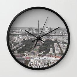 París - La ville lumière Wall Clock