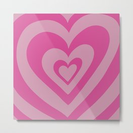 Love Power - bright rose Metal Print