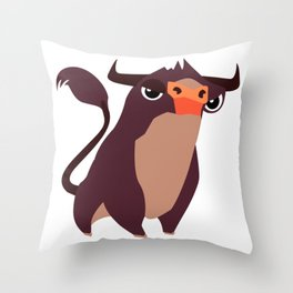 CUTE COW Throw Pillow