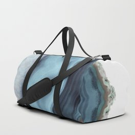 Light Blue Agate Duffle Bag