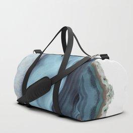 Light Blue Agate Duffle Bag