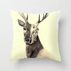Life and Death piece 2 Throw Pillow