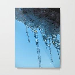 Ice Photo 2 Metal Print
