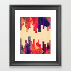 Night Visions: Textiles Framed Art Print