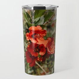 Blossoming flowers Travel Mug