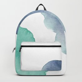 Watercolor Drops Backpack