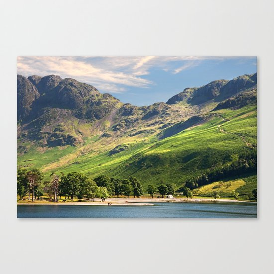 Buttermere Canvas Print