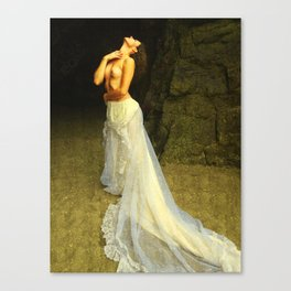 The Longing of Circe Canvas Print
