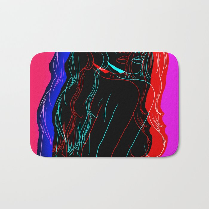 The Neon Demon Bath Mat