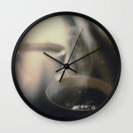 Coffee Dreams Wall Clock