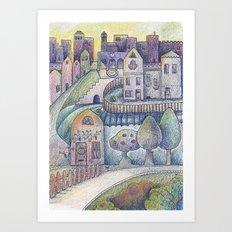 My little town Art Print