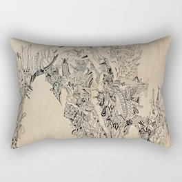 Barbarian City Rectangular Pillow
