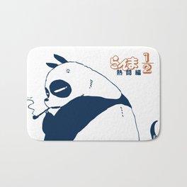 Genma panda ranma Bath Mat