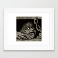 evil dead Framed Art Prints featuring Evil Dead by Jamile B. Johnson