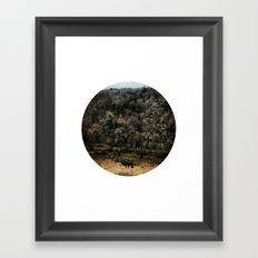 Telescope 11 gorge Framed Art Print