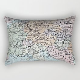 old map of Europe Rectangular Pillow