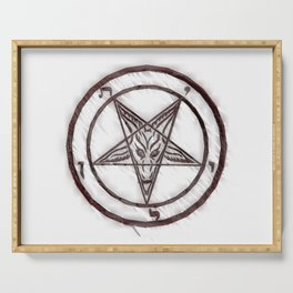 Symbol of the Occult Serving Tray