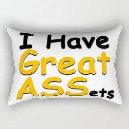 I have great ASSets Rectangular Pillow