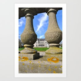 Newport Mansion Art Print