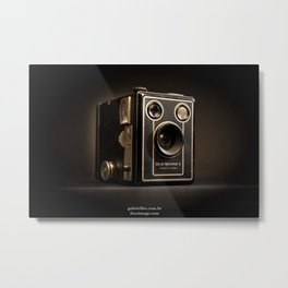 KODAK BROWNIE SIX-20 MODEL D Metal Print