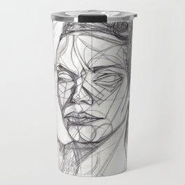 Donna Enigmatica #5; Vivien Solari #1 - Artist: Leon 47 ( Leon XLVII ) Travel Mug
