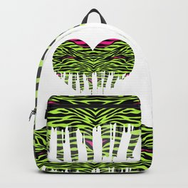 Stripes heart one Backpack