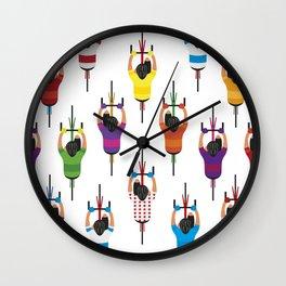 Cycling Squad Wall Clock