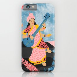 Saraswati iPhone Case