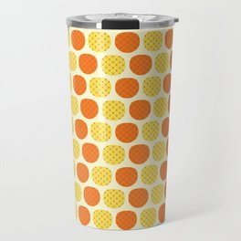 Dotty Pineapples - Singapore Tropical Fruits Series Travel Mug