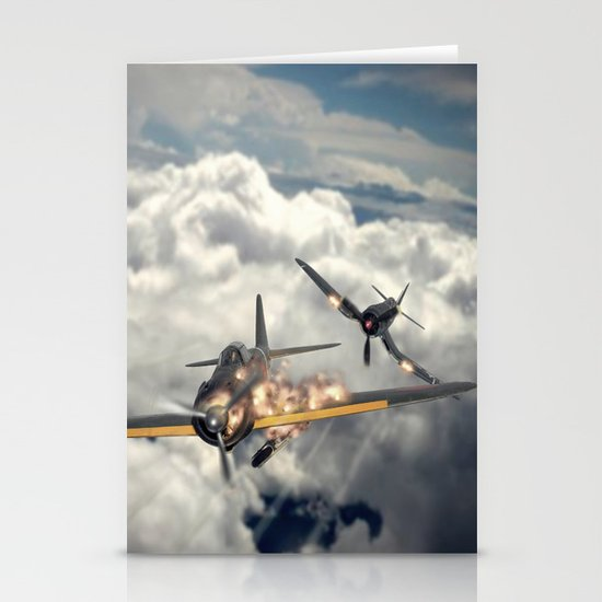 Watch your six! Stationery Cards