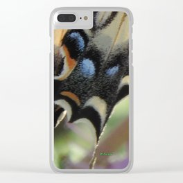 Detail of a Swallowtail Clear iPhone Case