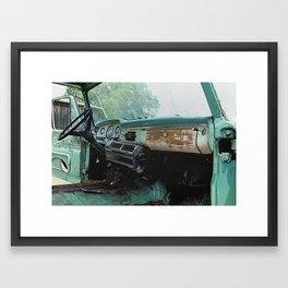 Old Ford Truck - Inside Scoop Framed Art Print