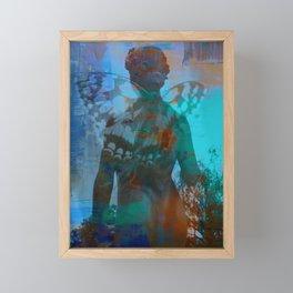 You give me Wings - JUSTART © Framed Mini Art Print