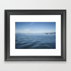 deep and away Framed Art Print