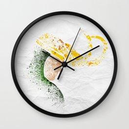 PunyGod Wall Clock