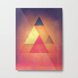 3try Metal Print
