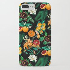 Fruit and Floral Pattern iPhone 7 Plus Slim Case