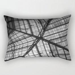 Liverpool Street Station Glass Ceiling Abstract Rectangular Pillow