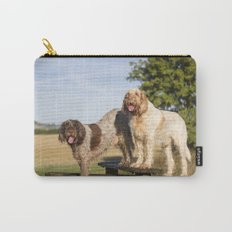 Italian Spinoni Dogs Woody & Ruben Carry-All Pouch