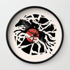 Disc Jockey Wall Clock