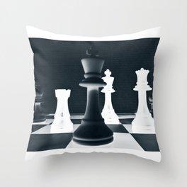 Chess Master Throw Pillow