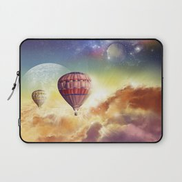 clouds,sky and ballons Laptop Sleeve