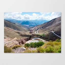 Crack in the Earth Canvas Print