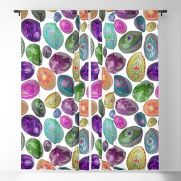 Pysanky Easter Eggs Blackout Curtain