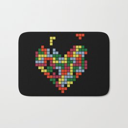 Tetris Love Bath Mat