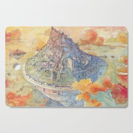 The Castle Cutting Board